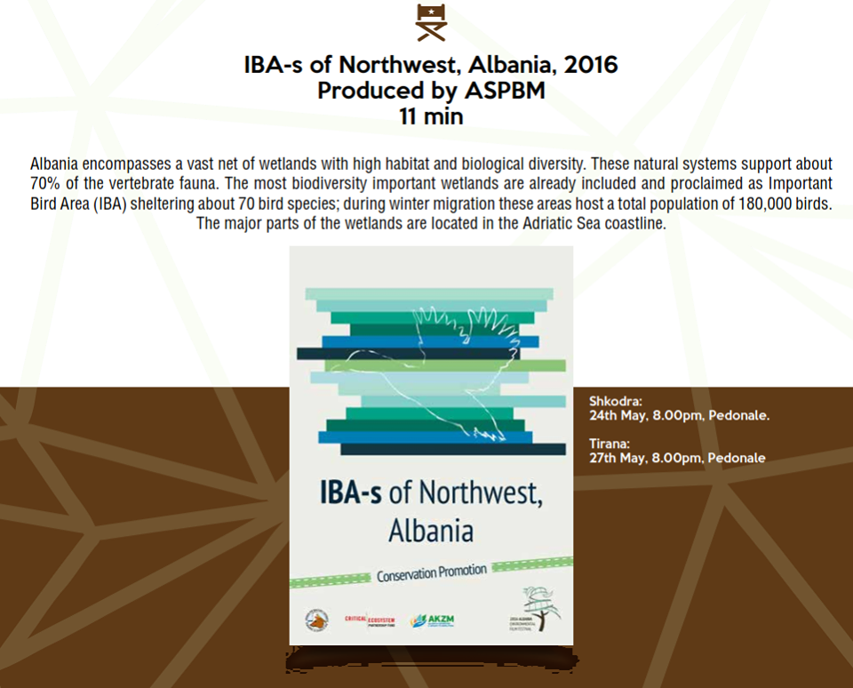 IBA's North West Of Albania (EFFA 16) – Winner Of 2nd Prize Award 2016
